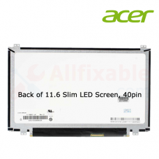 """11.6"""" Slim LCD / LED (40Pin U/D Screw) Compatible For Acer Aspire One 722 V5-131 Chromebook C710 Travelmate B113"""