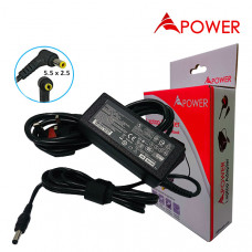 APower Laptop Adapter Replacement For Lenovo 19V 3.42A (5.5x2.5) 65W G430
