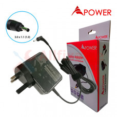 APower Tablet Adapter Replacement For Huawei 5V 4A (3.0x1.0/1.1) 20W MediaPad 7 Ideos S7
