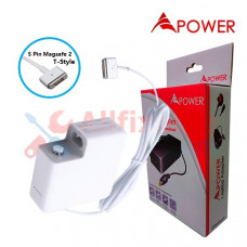 APower Laptop Adapter Replacement For 14.85V 3.05A (5 Pin Magsafe) Apple MacBook Air A1465 A1436 A1466 A1435