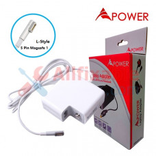 APower Adapter Replacement For Apple 16.5V 3.65A (5 Pin Magsafe) A1181 A1184 A1278 A1330 A1334 A1342 A1344
