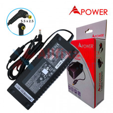 APower Laptop Adapter Replacement For 19V 7.1A (5.5x2.5) Toshiba Satellite A60 A65 A70 A75 P25 P30 P35