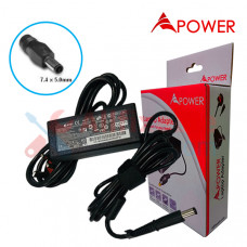 APower Laptop Adapter Replacement  For HP 18.5V 3.5A (7.4x5.0) 65W CQ40 CQ42 DV4 DM3-3000 4420s Pavilion G4-1000