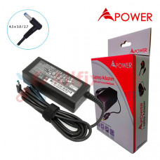 APower Laptop Adapter Replacement For HP 19.5V 3.33A (4.5x2.7/3.0) 65W 14-J 14-J008TX 14-J101TX 14-J153CA