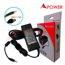 APower Laptop Adapter Replacement For HP 19V 4.74A (4.8x1.7) 90W Compaq 6520s 6720s Presario V3000 Pavilion DV1000 DV2000