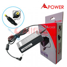 APower Laptop Adapter Replacement For Lenovo 20V 3.25A (4.0x1.7) IdeaPad 510s 100 B50-10 Flex 10