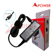 APower Laptop Adapter Replacement For Samsung 19V 2.1A (5.5x3.0) 40W NP300U1A NP305U1A NP-N150 NP-NC20 NP-NF210