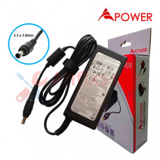 APower Laptop Adapter Replacement For Samsung 19V 3.16A (5.5x3.0) 60W NP270 NP300 NP305 NP350 N148 N150 R420 R440 RV408