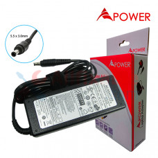 APower Laptop Adapter Replacement For Samsung 19V 4.74A (5.5x3.0) 90W NP350 NP365 NP550 P530 RC510 R620 R700 R720 R780
