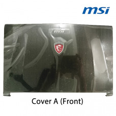 Laptop Cover (A) Replacement For MSI GE62 2QE, GE62 2QF, GE62 Apache Pro, MS-16J1 Front Casing Case