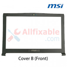 Laptop Cover (B) Replacement For MSI GE62 2QE, GE62 2QF, GE62 Apache Pro, MS-16J1 Casing Case