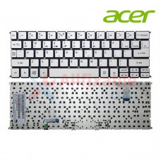 Keyboard Compatible For Acer Aspire S7-191  S7-192 Silver with Backlit Backlight