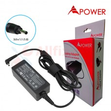 APower Laptop Adapter Replacement For Acer 12V 1.5A (3.0x1.0/1.1) 18W Iconia Tab W3-810 A100 A200 A210 A500 A501