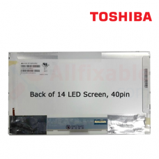 "14"" LCD / LED Compatible For Toshiba Satellite L510 L740 C800 M645"