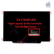 "13.3"" Slim LCD / LED Special 30pin (Left & Right Screw) Compatible For Apple MacBook Pro A1278 A1342"