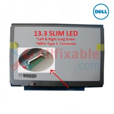 "13.3"" Slim LCD / LED (40Pin Type 3 - L/R Long Screw) Compatible For Dell Latitude E4300"