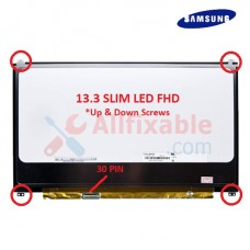 "13.3"" Slim LCD / LED (30pin) Compatible For Samsung NP915S3G N133HSE-EA3"