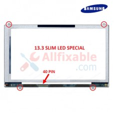 "13.3"" Slim Special LCD / LED (40Pin) Compatible For Samsung NP530U3B"