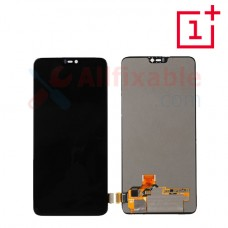 Smartphone Fullset LCD / LED Replacement For OnePlus 6